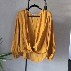 5 Star Rated!!! 🍂 Loose Faux Wrap Blouse🍂